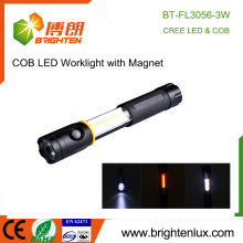 Factory Wholesale Best Most Powerful Aluminum Metal 3 in1 Multi-functional Extending 3 Watt COB Magnetic led Work Light