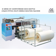 Computerized Industrial Multi Needle Chain Stitch Mattress Making Machine