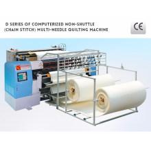 Colchão industrial automatizado do ponto Chain da multi agulha que faz a máquina