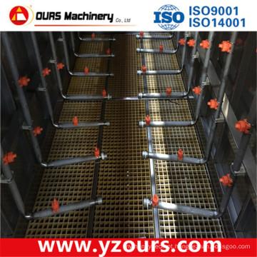 Dispositivo de pré-tratamento de superfície de metal (tipo de tanque DIP)