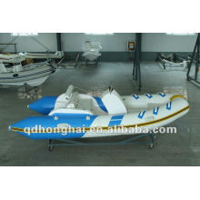 rigid boat rib390C fiberglass with pvc
