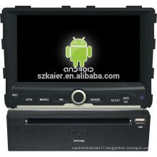 Glonass! Android 4.2 écran tactile voiture dvd GPS pour Ssangyong Rexton + dual core + OEM + Usine directement!