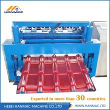 Máquina perfiladora de tejas esmaltadas de acero coloreado