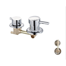OEM High quality brass  3 functions mixer shower panel bathroom shower faucet
