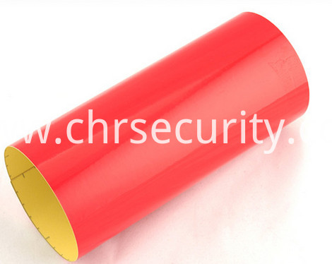 7803 red pvcengineering grade reflective sheeting2