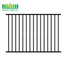 Panneau de clôture en acier à double rail de prix usine Spear