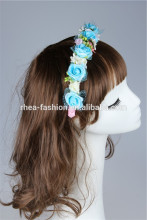 3 color for u choose wedding headband,multi color fabric hair accessory jewelry