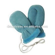 Lovely Girl Lammfell Handschuhe (DSX-F003)