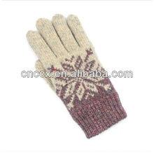 PK17ST314 Winter fanshion ausgefallener Strickhandschuh für Mädchen