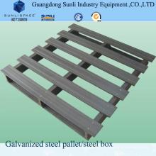 Pálete de mão de aço galvanizado Mnaual CE-aprovado
