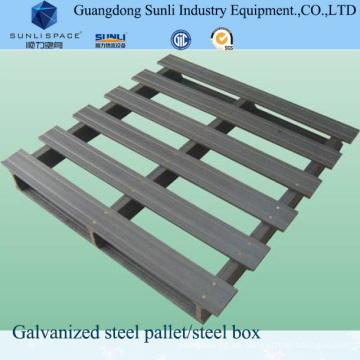 CE-geprüfte Mnual Galvanisierte Stahlhandpalette