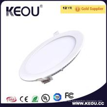 Marco blanco 3W/6W/9W/12W/15W/18W/24W luz del Panel LED interior