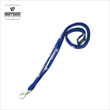 Polyester Custom Tubular Printing Lanyards with Phone Loop
