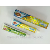 Fresh breath toothpaste gel
