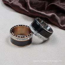 Destin bijoux cristal de Swarovski bague céramique