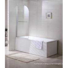 W1 Bathroom Sanitary Ware Portable Bathtub Screens