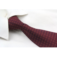 Coffee Square Design Necktie