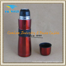 Curvy Vacuum Flask with Rubber Sleeve (CL1C-A050J)