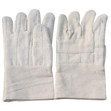 NMSAFETY anti-chaleur pour le four utilisent des gants de travail de coton