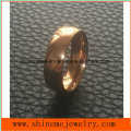 Shineme Jewelry Confirtable Rose Gold Plated Stainless Steel Ring (SSR2792)