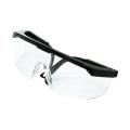 Óculos de proteção industrial óculos de lente plana máscara de olho