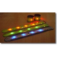 Brazalete reflectante LED W 3m Material de Scotchlite