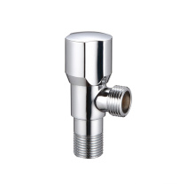 chrome finished toilet universal water inlet brass angle fill valve 1 2*1 2