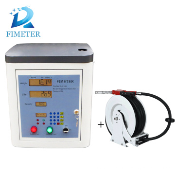 Fimeter pure water filling machine with print tickets for overseas distributor