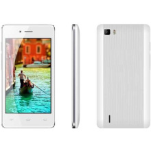 Android 4.4. Gefälschter IPS-Schirm 4.0 Zoll, GSM 2band + WCDMA 2100 [3G], Sc7731c [Qual-Kern 1.0GHz], 1450mAh, Smartphone