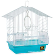 Indoor Foldable Portable Breathable Mesh Panel Small Bird Parakeet Breeding Cage with Hanging Hook