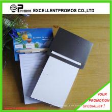 Logotipo promocional Impreso Memo Pad magnético con la pluma (EP-N82964)