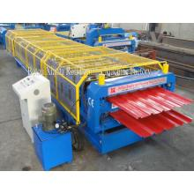 Roof Sheet Double Deck Roll Forming Machine