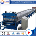 Lantai Decking Sheet Rolling Forming Machinery