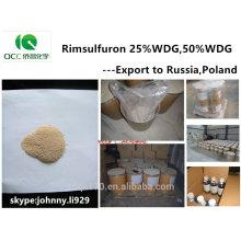 Herbicida / herbicida Rimsulfuron 25% WDG, 50% WDG, 250g / kg WDG, 122931-48-0, Rússia Market-lq
