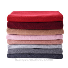 Texted Material Mongolia 100% funkly winter pashmina shawl scarf