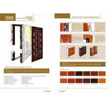Luxury Steel Wooden Armored Door