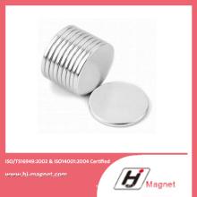 Kundenspezifische NdFeB Scheibenmagnet mit ISO 14001