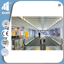 Shopping Mall Passenger Conveyor with Aluminum Step