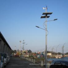 Gerador horizontal da turbina eólica do uso do sistema da luz de rua 400W