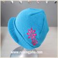 Акрил трикотаж пик шапку для детей