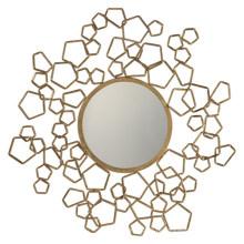 Творческий Круглые Металлические Каркасные Стены Декоративные Зеркало / Античное Золото Зеркало Рамка