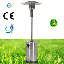 Stainless Steel Patio Heater Without Top Tank Housing