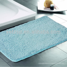 Tapis de tapis 100% polyester absorbant lavable en Chine