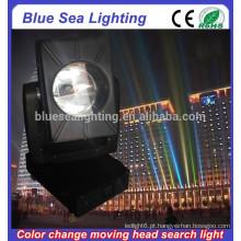 4/5/7 / 10KW cor mudável movendo cabeça pesquisa luz