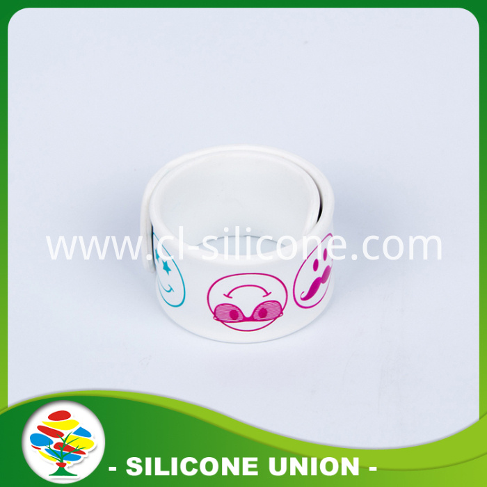 Promotion Silicone Slap Ruler Bracelet