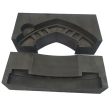 Durable good electrical conductivity melting glass graphite mold