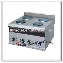 K138 Cuisinière électrique à plaque chauffante en acier inoxydable