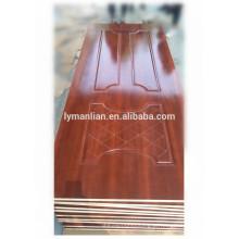 A pele nova da placa da porta do projeto moldou a melamina da pele da porta feita em China