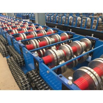 Galvanized floor deck roll forming machine