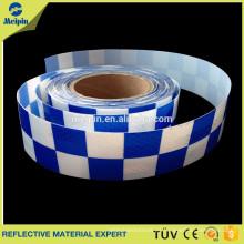 cinta reflectante de pvc de alto brillo